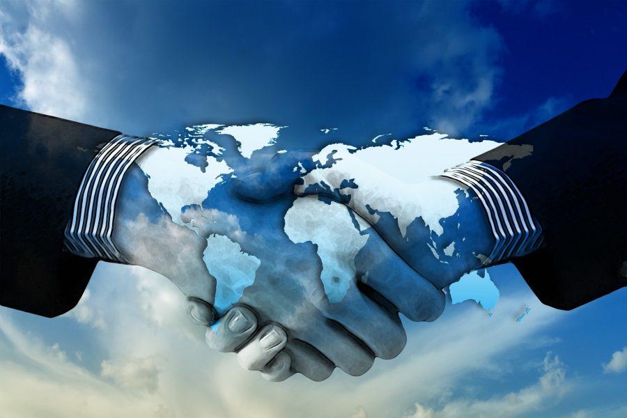 handshake-globe